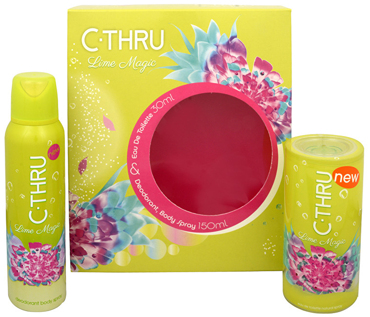 C-THRU Lime Magic - EDT 30 ml + deodorant ve spreji 150 ml