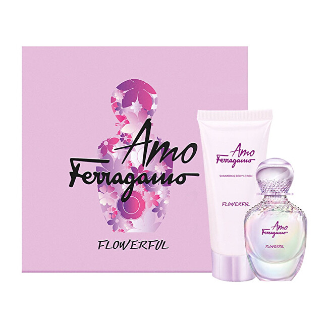 Salvatore Ferragamo Amo Ferragamo Flowerful  EDT 50 ml  tělové mléko 100 ml