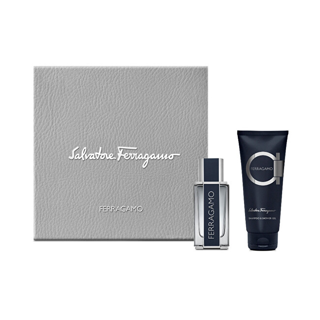 Salvatore Ferragamo F By Ferragamo Pour Homme  EDT 50 ml  sprchový gel 100 ml