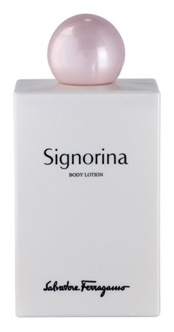 Salvatore Ferragamo Signorina - tělové mléko 200 ml