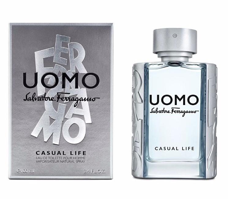 Salvatore Ferragamo Uomo Casual Lifepentru bărbați  EDT 30 ml