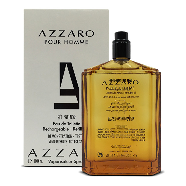 Azzaro Azzaro Pour Homme - EDT TESTER (plniteľná) 100 ml