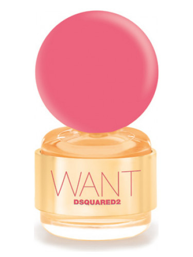 DSQUARED2 Want Pink Ginger parfumovaná voda 100 ml