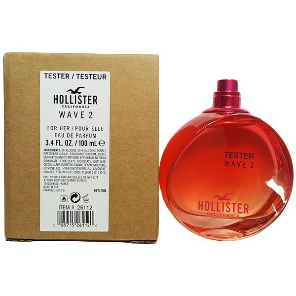 Hollister Wave 2 For Her - EDP TESTER 100 ml