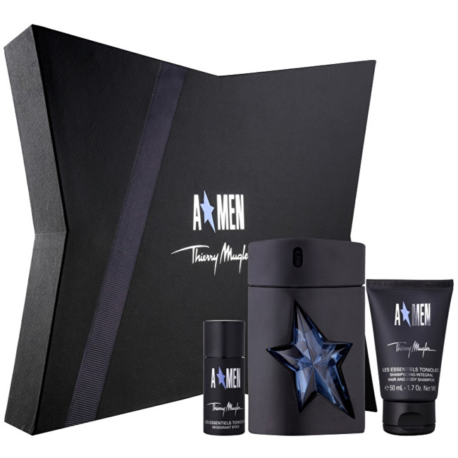 Thierry Mugler A*Men - EDT 100 ml + sprchový gel 50 ml + tuhý deodorant 20 ml