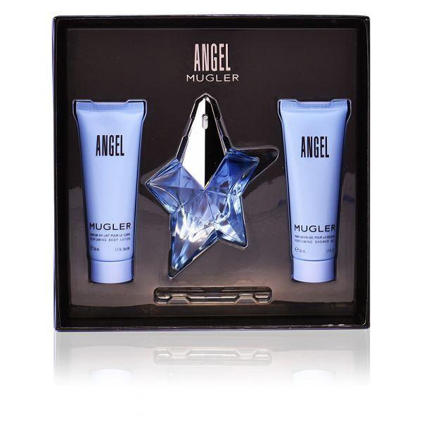 Thierry Mugler Angel - EDP 25 ml + sprchový gel 50 ml + tělové mléko 50 ml
