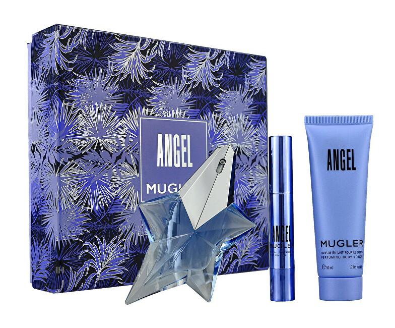 Thierry Mugler Angel – EDP 25 ml (plnitelná) + tělové mléko 50 ml + parfémovaná tyčinka 3 g