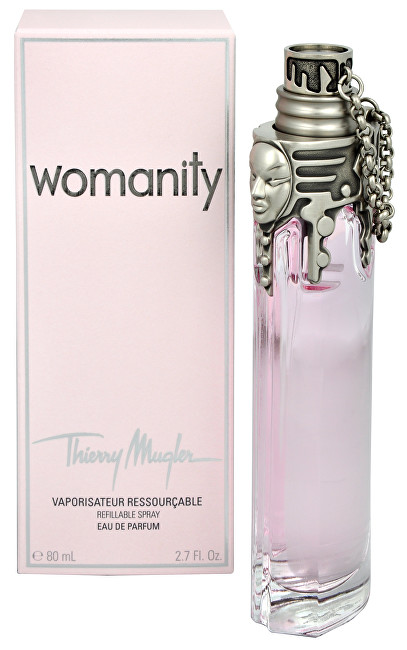 Thierry Mugler Womanity - EDP (plnitelná) 80 ml