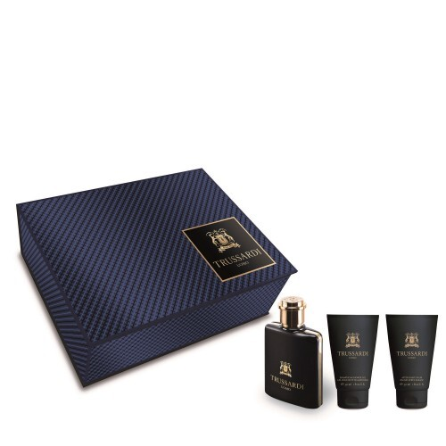 Trussardi Uomo 2011  EDT 50 ml  sprchový gel 30 ml  balzám po holení 30 ml