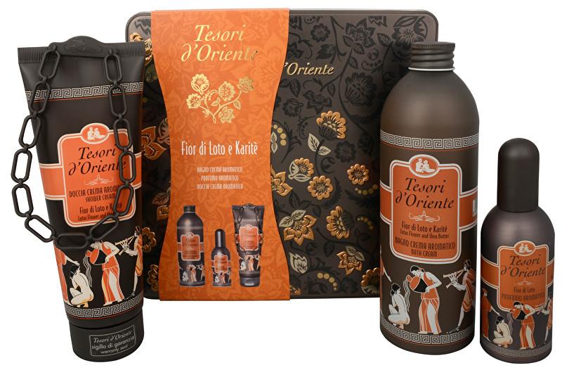 Tesori d´Oriente Fior Di Loto - EDP 100 ml + sprchový gel 250 ml + koupelový krém 500 ml