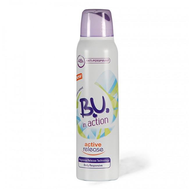 B.U. In Action On Active Release - deodorant ve spreji 150 ml