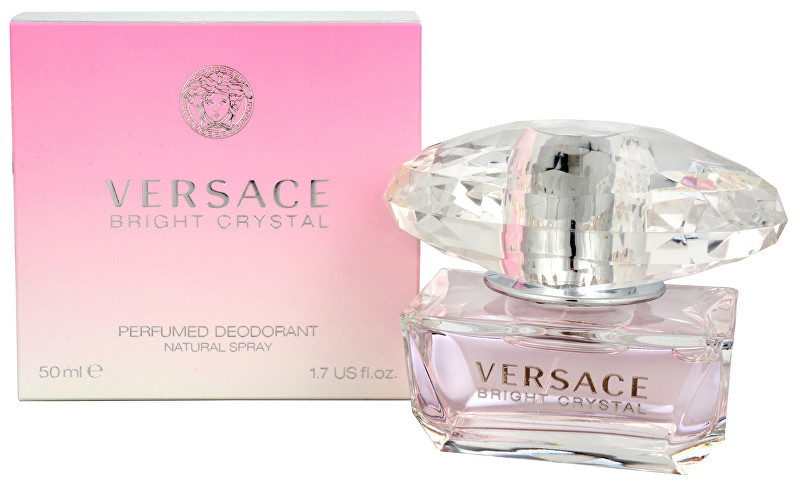 Versace Bright Crystal deospray 50 ml