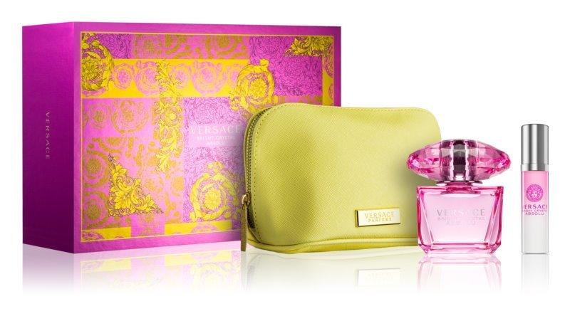 Versace Bright Crystal Absolu - EDP 90 ml + EDP 10 ml + kosmetická taštička