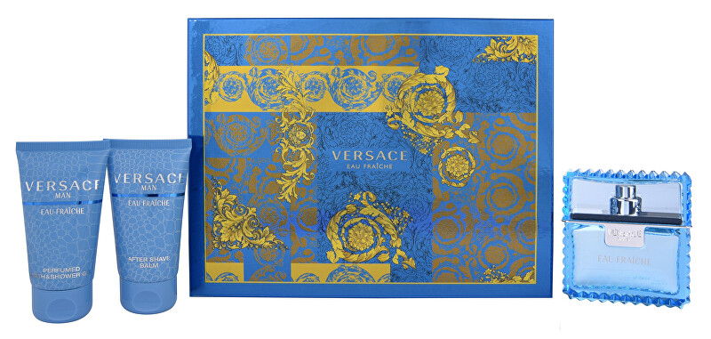 Versace Eau Fraiche Man - EDT 50 ml   sprchový gel 50 ml   balzám po holení 50 ml