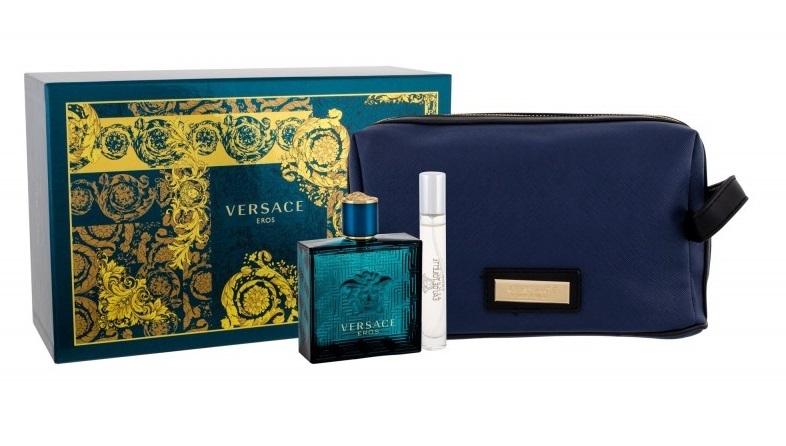 Versace Eros - EDT 100 ml + EDT 10 ml + kosmetická taška