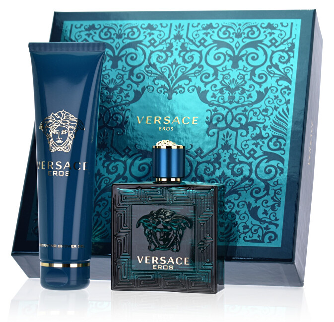 Versace Eros - EDT 100 ml   sprchový gel 150 ml