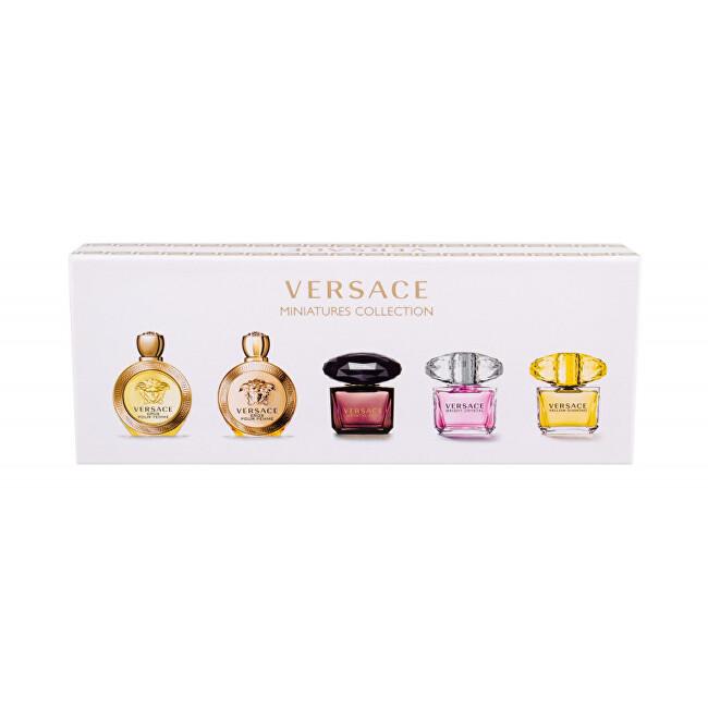 Versace Kolekcia miniatúr Versace – EDT 4 x 5 ml + EDP 5 ml