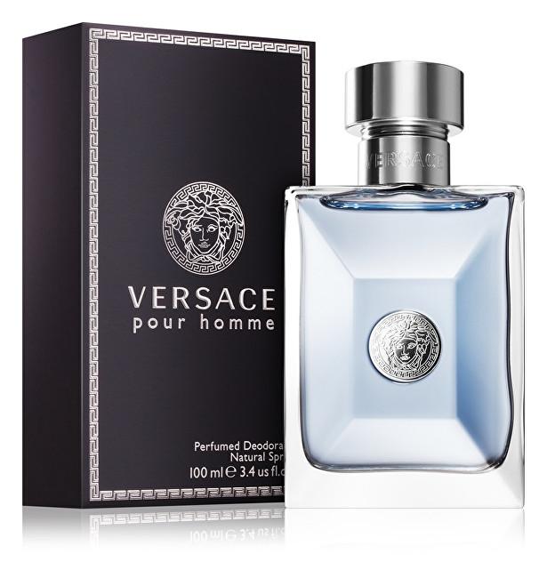 Versace Pour Homme - deodorant s rozprašovačem 100 ml