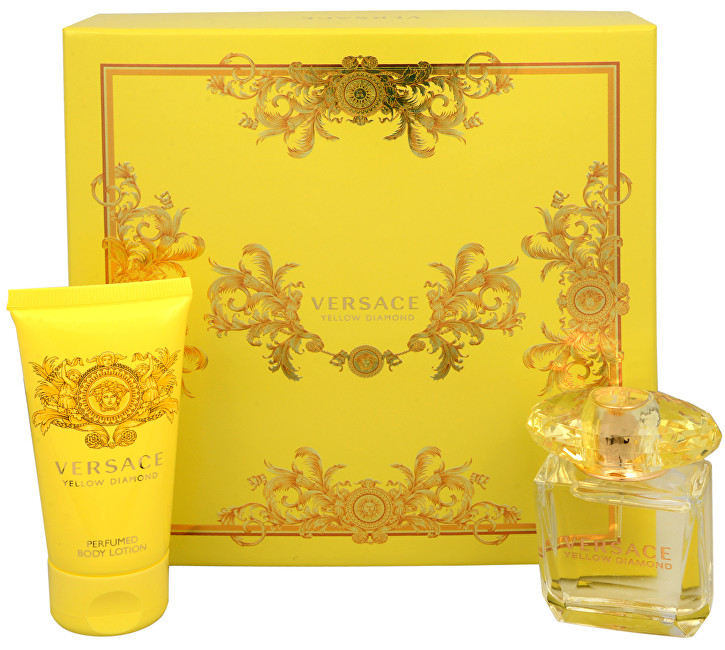 Versace Yellow Diamond - EDT 30 ml + telové mlieko 50 ml