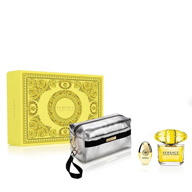 Versace Yellow Diamond - EDT 90 ml + EDT 10 ml + kosmetická taštička