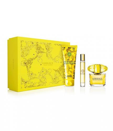 Versace Yellow Diamond - EDT 90 ml + tělové mléko 150 ml + EDT 10 ml