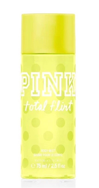 Victoria´s Secret Pink Body Total Flirt - tělový závoj 250 ml