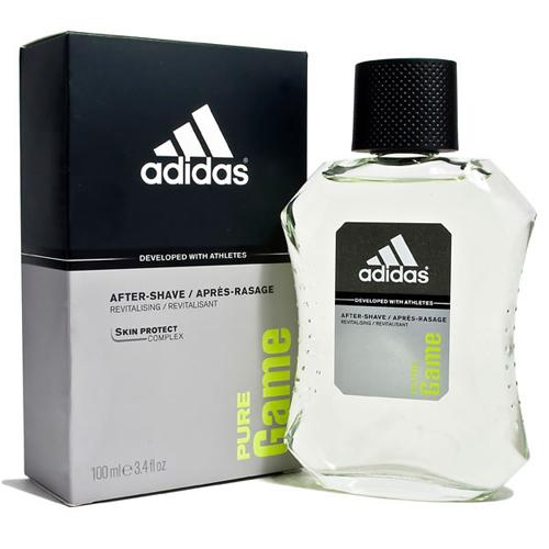 Adidas Pure Game - voda po holení - SLEVA - poškozená krabička 100 ml