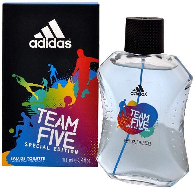 Adidas Team Five - EDT - SLEVA - poškozená krabička 100 ml