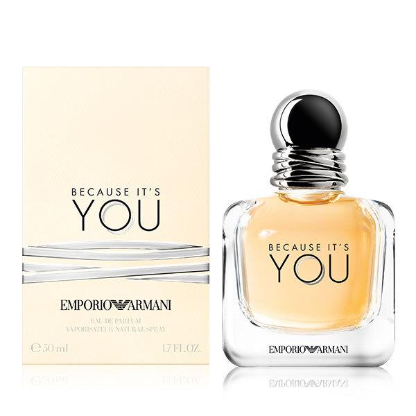 Armani Emporio Armani Because It's You - EDP - SLEVA - poškozená krabička 30 ml