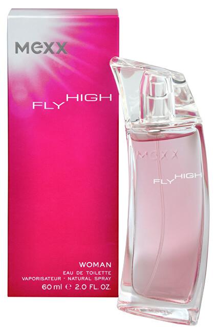 Mexx Fly High Woman - EDT - ZĽAVA - pokrčená krabička 40 ml