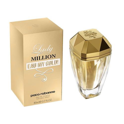 Paco Rabanne Lady Million Eau My Gold! - EDT - ZĽAVA - pokrčená krabička 50 ml