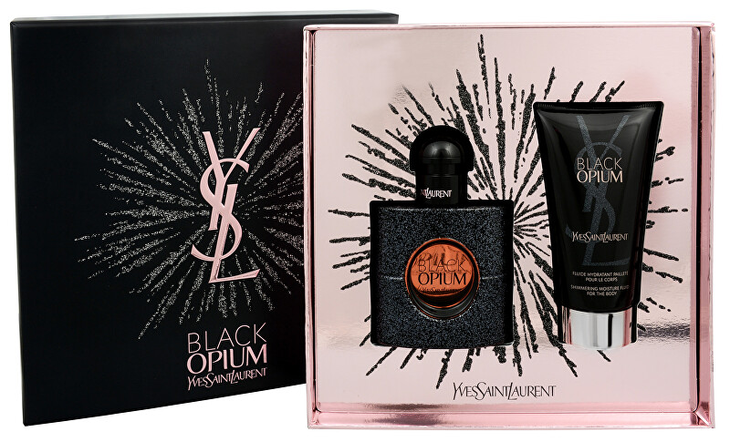 Yves Saint Laurent Black Opium - EDP 30 ml + tělové fluidum 50 ml