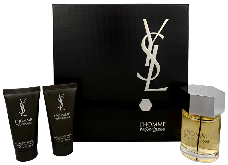 Yves Saint Laurent L` Homme - EDT 100 ml + balzam po holení 50 ml + sprchový gél 50 ml