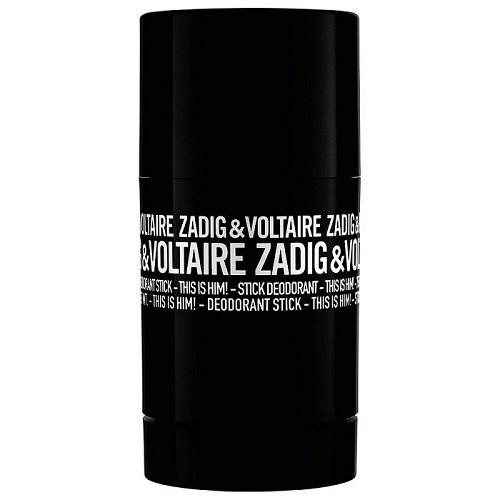 Zadig & Voltaire This Is Him - tuhý deodorant 75 ml pro muže