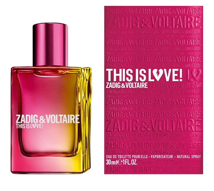 Zadig  Voltaire This is Love For Her  EDP 30 ml