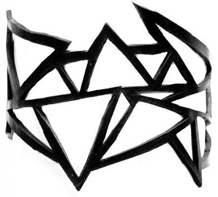 ARTcycleBALI Geometrický náramok Matrix BR_059 15,5 cm
