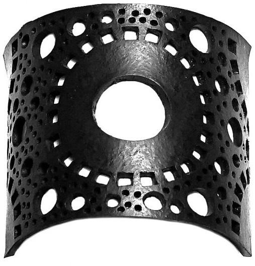 ARTcycleBALI Náramek s kruhy Circle Besar BR_040b 15,5 cm