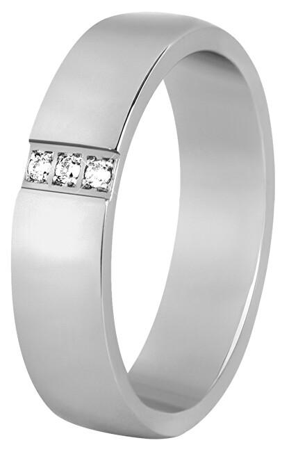 Beneto Dámsky snubný prsteň z ocele SPD01 49 mm