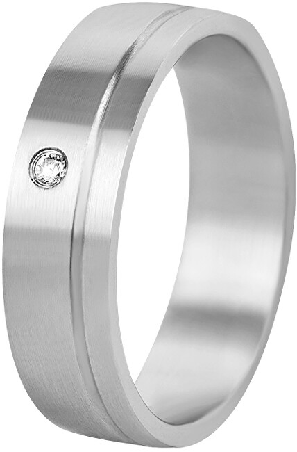 Beneto Dámsky snubný prsteň z ocele SPD06 49 mm