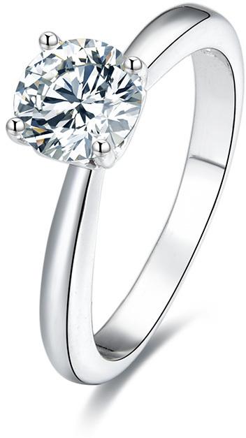 Beneto Stříbrný prsten s krystaly AGG200 54 mm
