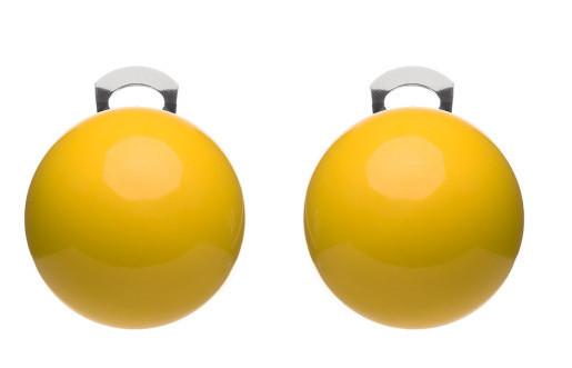 #ballsmania Originální náušnice O154 14-0852 Giallo Fresia