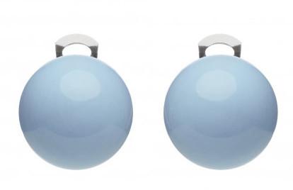 #ballsmania Originální náušnice O154 14-4121 Azzurro Cielo