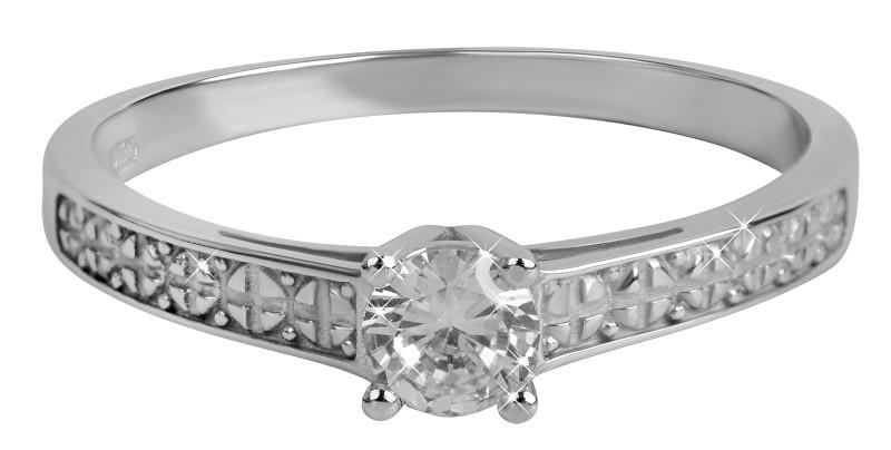 Brilio Dámský prsten s krystalem 226 001 01017 07 54 mm