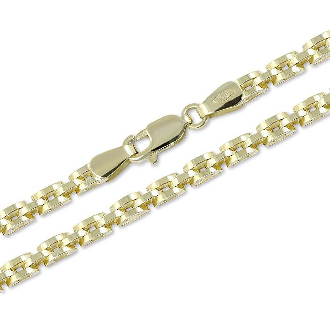 Brilio Exkluzivní zlatý řetízek 42 cm 271 115 00308 - 11,30 g