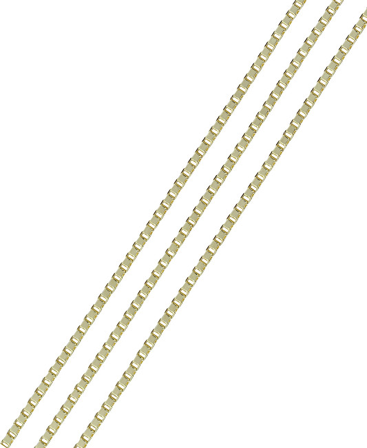Brilio Luxusní zlatý řetízek 42 cm 271 115 00130 - 1,30 g