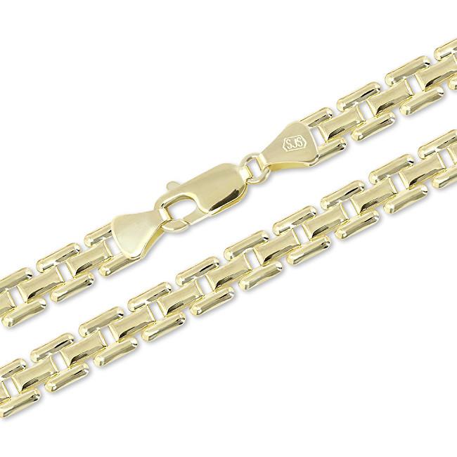 Brilio Luxusní zlatý řetízek 42 cm 271 115 00306 - 12,30 g