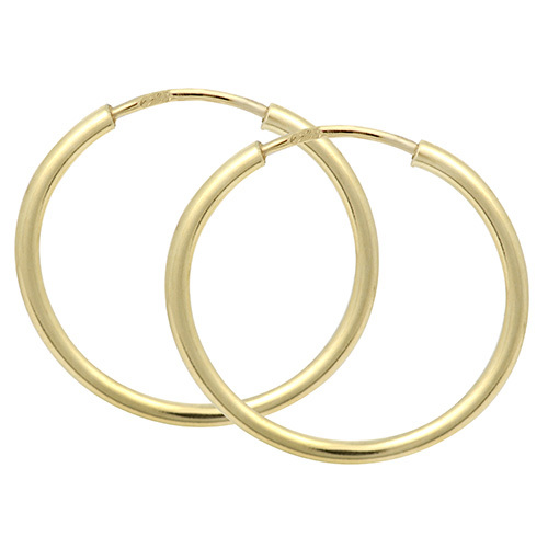 Brilio Náušnice zlaté kruhy 231 001 00278 - 1,15 g