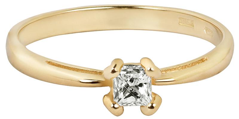Brilio Něžný zásnubní prsten 226 001 00955 59 mm