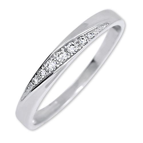 Brilio Nuntă inelară cu cristale 229 001 00602 07 56 mm