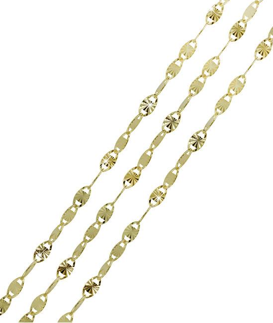 Brilio Galben aur lanț 45 cm 271 115 00206 - 1.85 g
